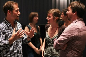 Networking and fun film talk among filmmakers and film lovers is a highlight of the weekend.