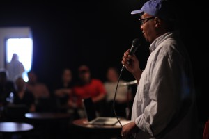"""Part of the fun of the Fest is our """"Pitch It!"""" competition where filmmakers tell their story to a panel of industry insiders."""