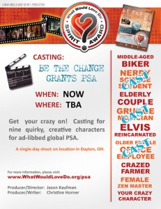what would love do casting flyer