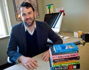 Andrew Strombeck, Ph.D., associate professor of English at Wright State University