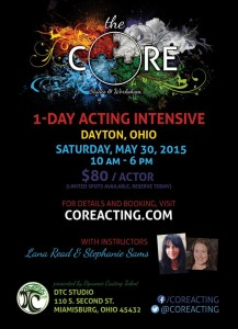 CORE acting workshop