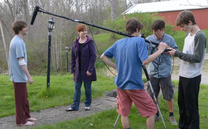Teen Filmmakers Premiere Award-Winning Short At Neon